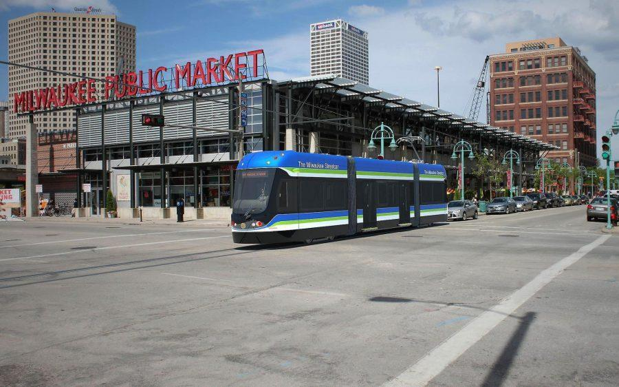 The+streetcar%E2%80%99s+2.5-mile+route+will+include+the+downtown+area+and+a+loop+around+the+lakefront%2C+including+major+Milwaukee+events%2C+like+Summerfest%2C+along+Streetcar+stops.+Photo+via+themilwaukeestreetcar.com