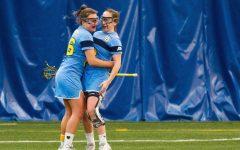 Women's lacrosse offense finding groove