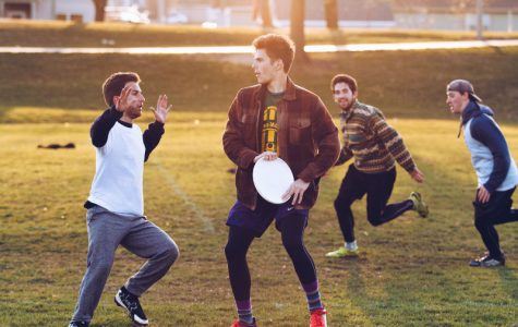 Men's ultimate frisbee team in nation's top 100