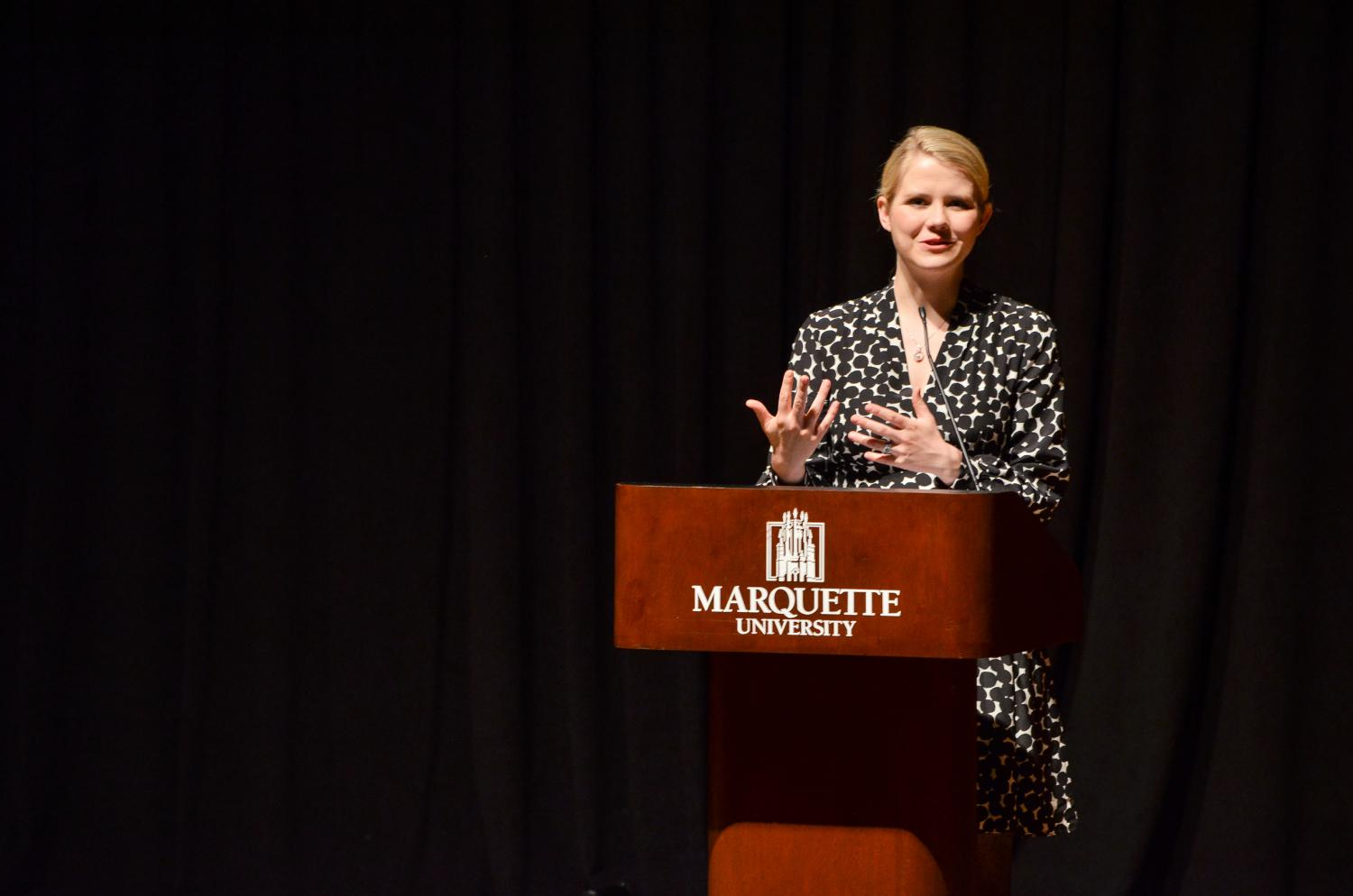 Elizabeth Smart is a full-time advocate for the prevention of child abuse.