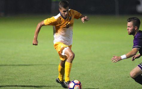 Daniel Szczepanek scored two goals in Marquette's 4-2 win over Seton Hall Saturday.