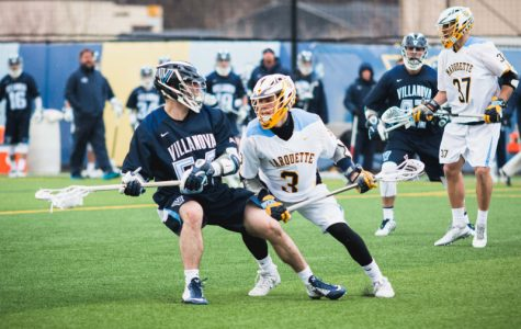 Villanova comes back to defeat men's lacrosse in overtime