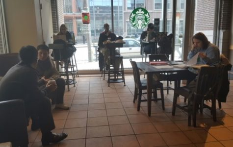 Woman dies in campus Starbucks