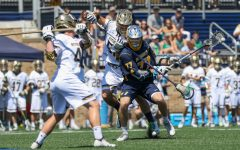 Men's lacrosse falls 15-9 to No. 4 Notre Dame in NCAA Tournament