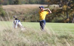 Men's golf tied for third heading into final day of BE Championships
