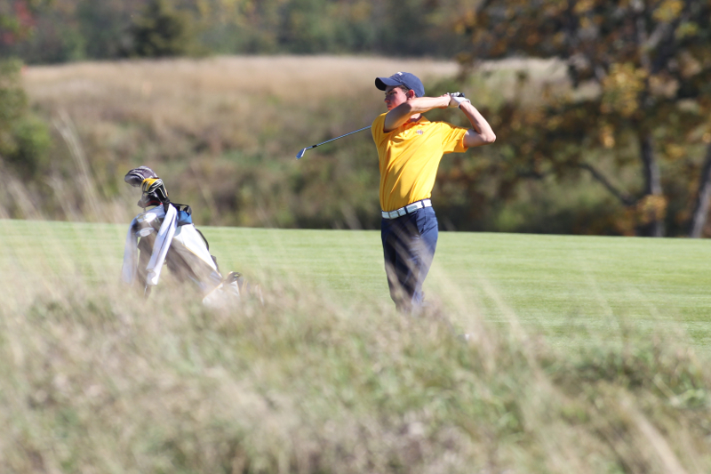 Senior Henry Klongland, playing in his last tournament with Marquette, put up a 72 on day two of the BIG EAST Championship.