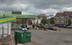 Shots fired at Falcon Fuel gas station