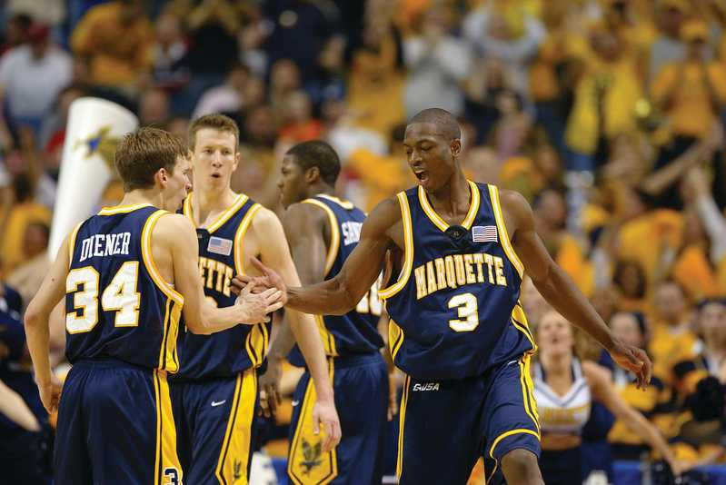 Travis+Diener+was+part+of+Marquette%27s+iconic+run+to+the+2003+Final+Four.