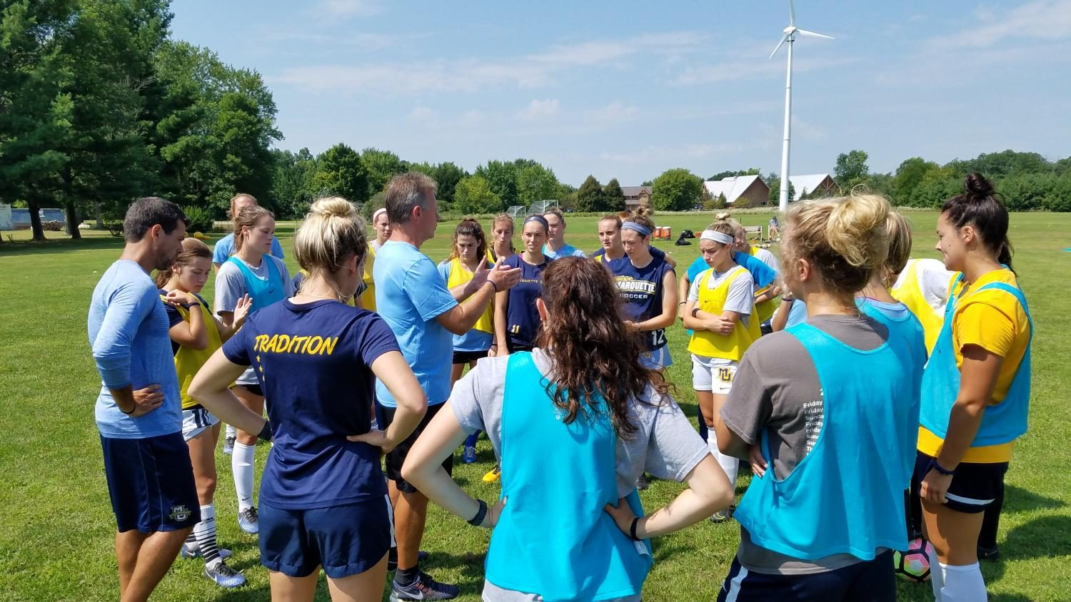 Camp Whitcomb: A thread running throughout women's soccer's 25-year history