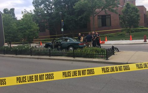 Residence hall director struck by car, in stable condition