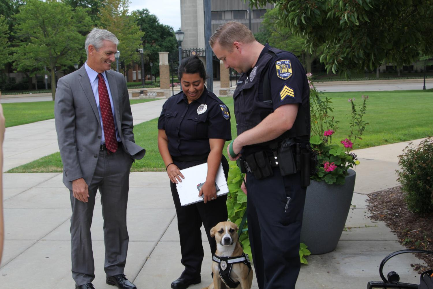 MUPD's new four-legged employee