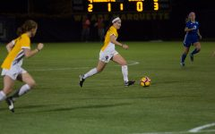 Bugay, Beard take advantage of opportunities in 2-0 win over Louisville