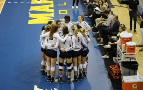 Volleyball sweeps Southern Miss, ends non-con play 6-5