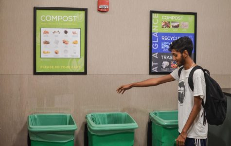 Dining hall compost bins continue to help sustainability efforts