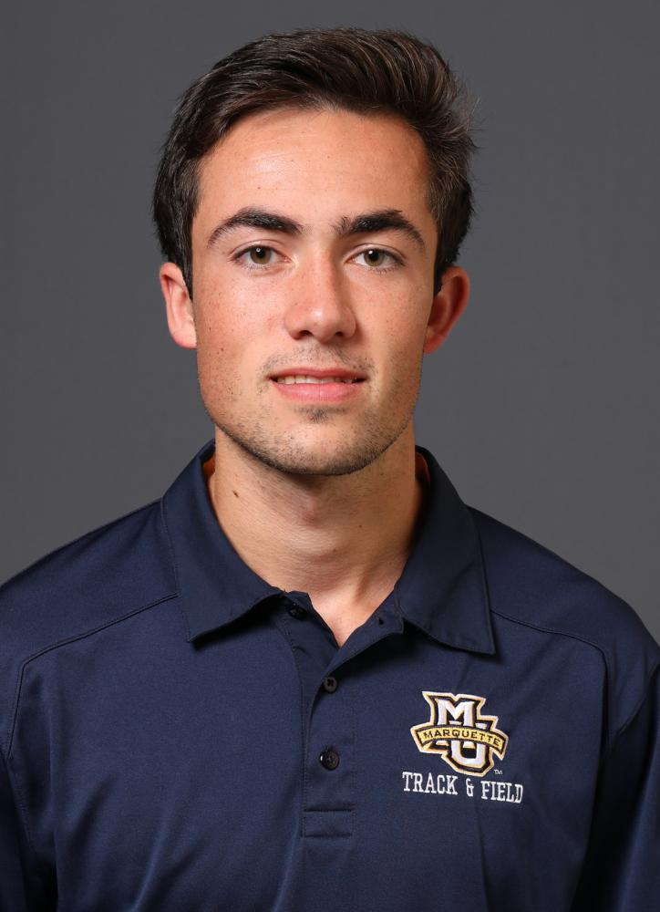Alex Gill has had several impressive runs for Marquette cross country, including a top 12 finish at the Flames/Flyer challenge. (Photo courtesy of Marquette Athletics.)