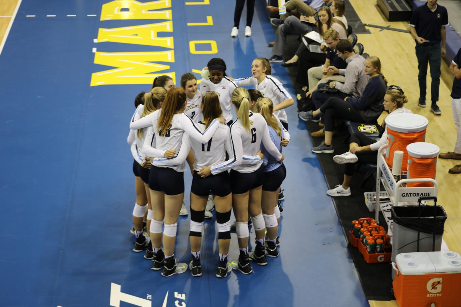 PREVIEW: Marquette, others look to unseat Creighton in BIG EAST volleyball tournament