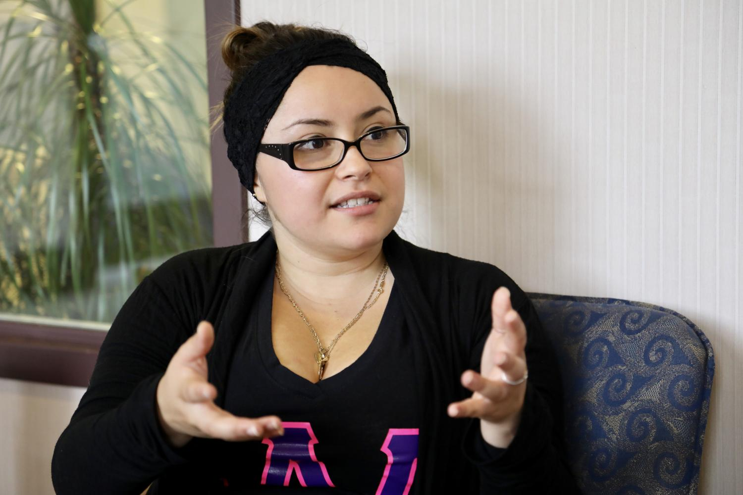 Fabiola Magaña, a senior in the College of Nursing, is a first-generation student.
