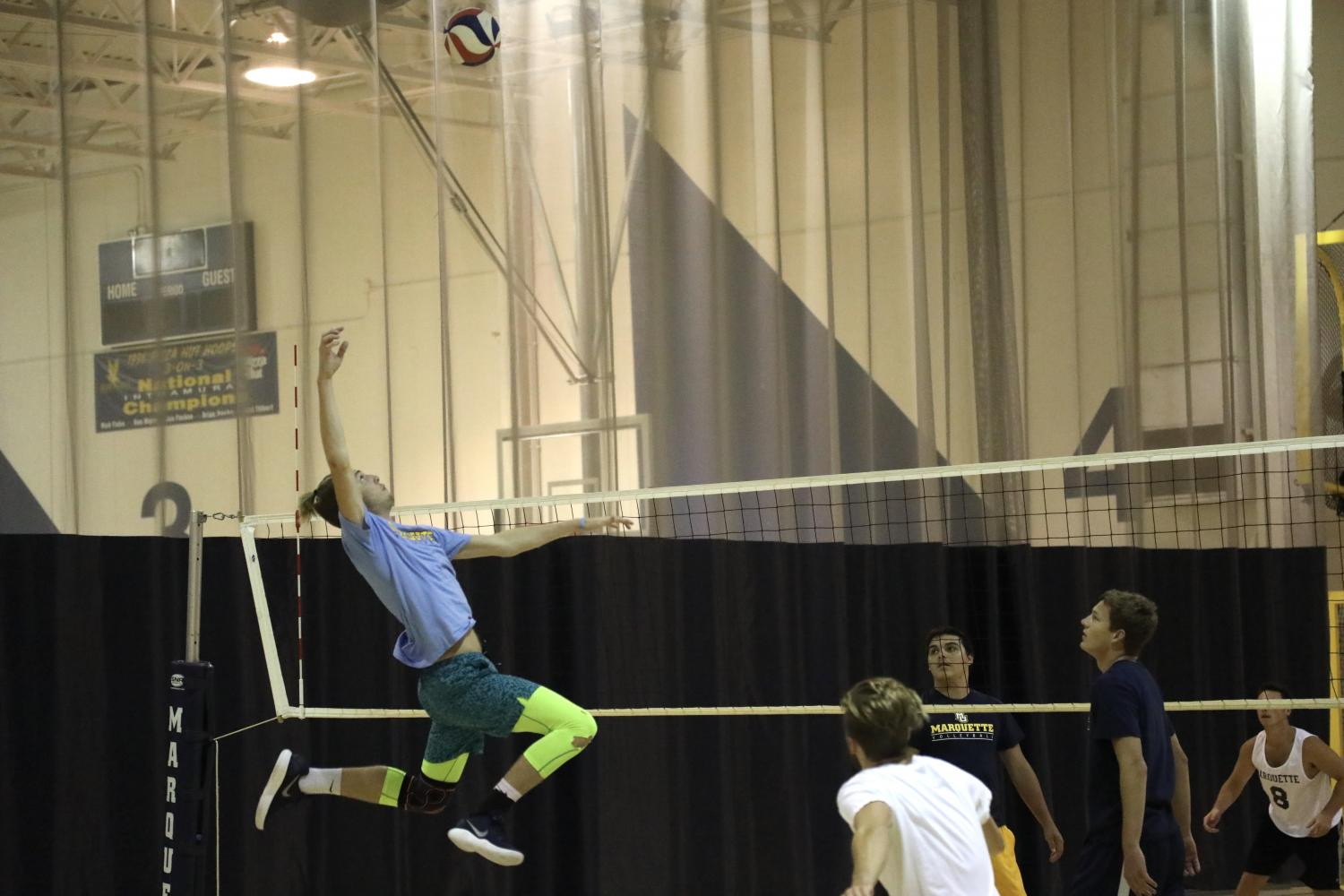 Club volleyball holds tryouts, looks to return to nationals