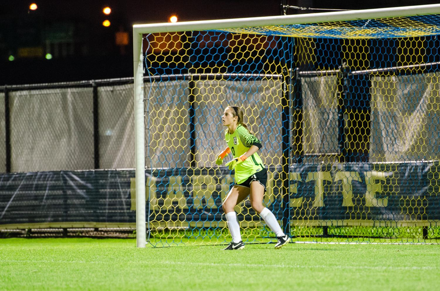 Maddy Henry had seven saves in a 1-0 Marquette victory over Boston University.