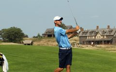 Men's Golf slips to third after second day at Marquette Intercollegiate