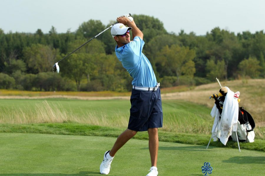 Kendziorski emerges as breakout star for golf team