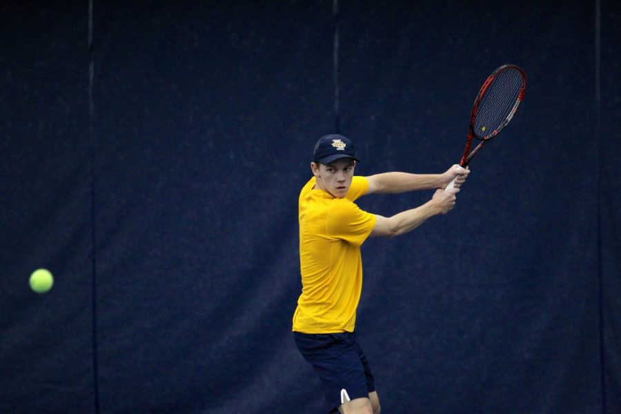 Former TCU player Greg Anderson takes over No. 1 spot in men's tennis lineup