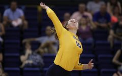 Outside hitter Barber sets historic pace for volleyball