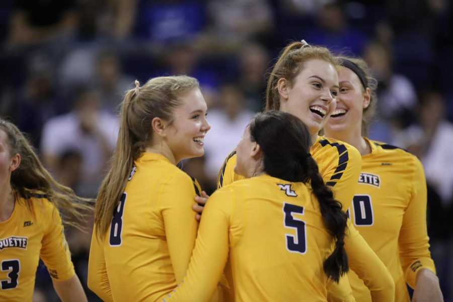 Volleyball takes down Providence in straight sets