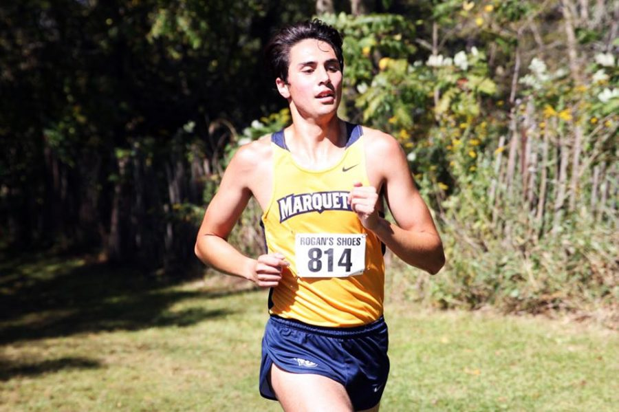 Ryan+Burd+has+gone+from+not+making+the+team+as+a+freshman+walk-on+to+being+one+of+the+team%27s+best+runners.+%28Photo+courtesy+of+Marquette+Athletics.%29