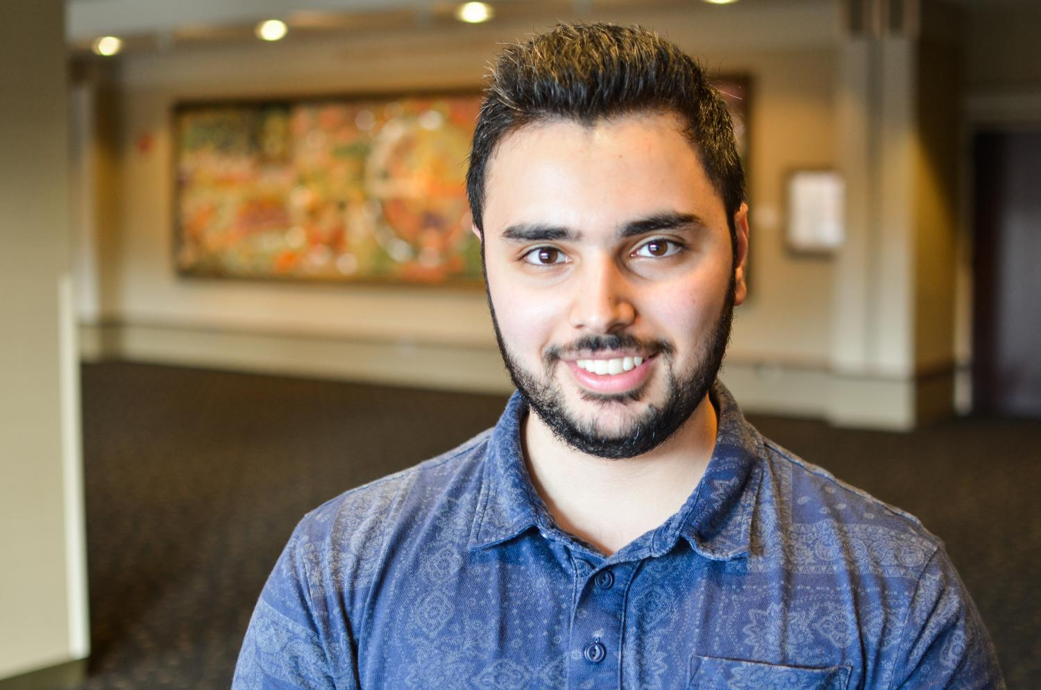 Haider Shabi, a senior in the College of Arts & Sciences, founded the Marquette chapter of Amnesty International.  He said he believes the only way to prevent injustices in the world from occurring is to be well-educated about the issues first.