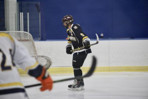 Club hockey blows out Ramblers in final home series