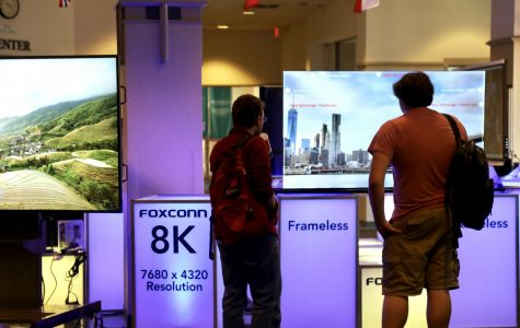 Foxconn is looking to reach out to educational institutions in the Milwaukee area with its new downtown building.