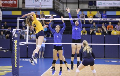 Volleyball falls to Creighton in five-set BIG EAST title match