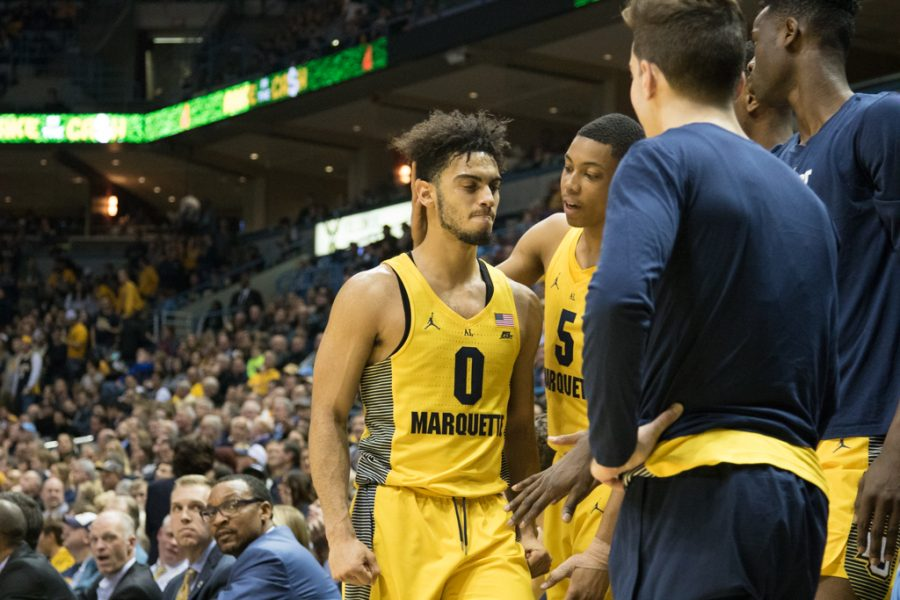 Markus Howard fouls out against Purdue. He had 22 points in Mondays win vs. VCU.