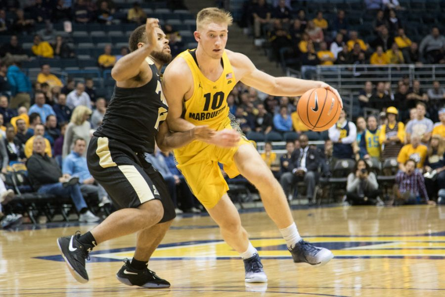 FLOOR SLAPS: Marquette cannot stop Haas in loss to Purdue