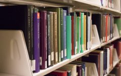 Raynor Library book collection downsizing