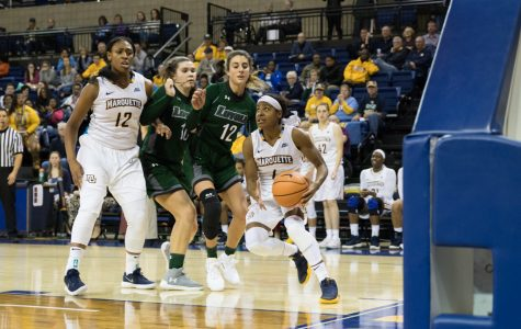 PHOTO GALLERY: Women's basketball earns first win of season against Loyola Maryland