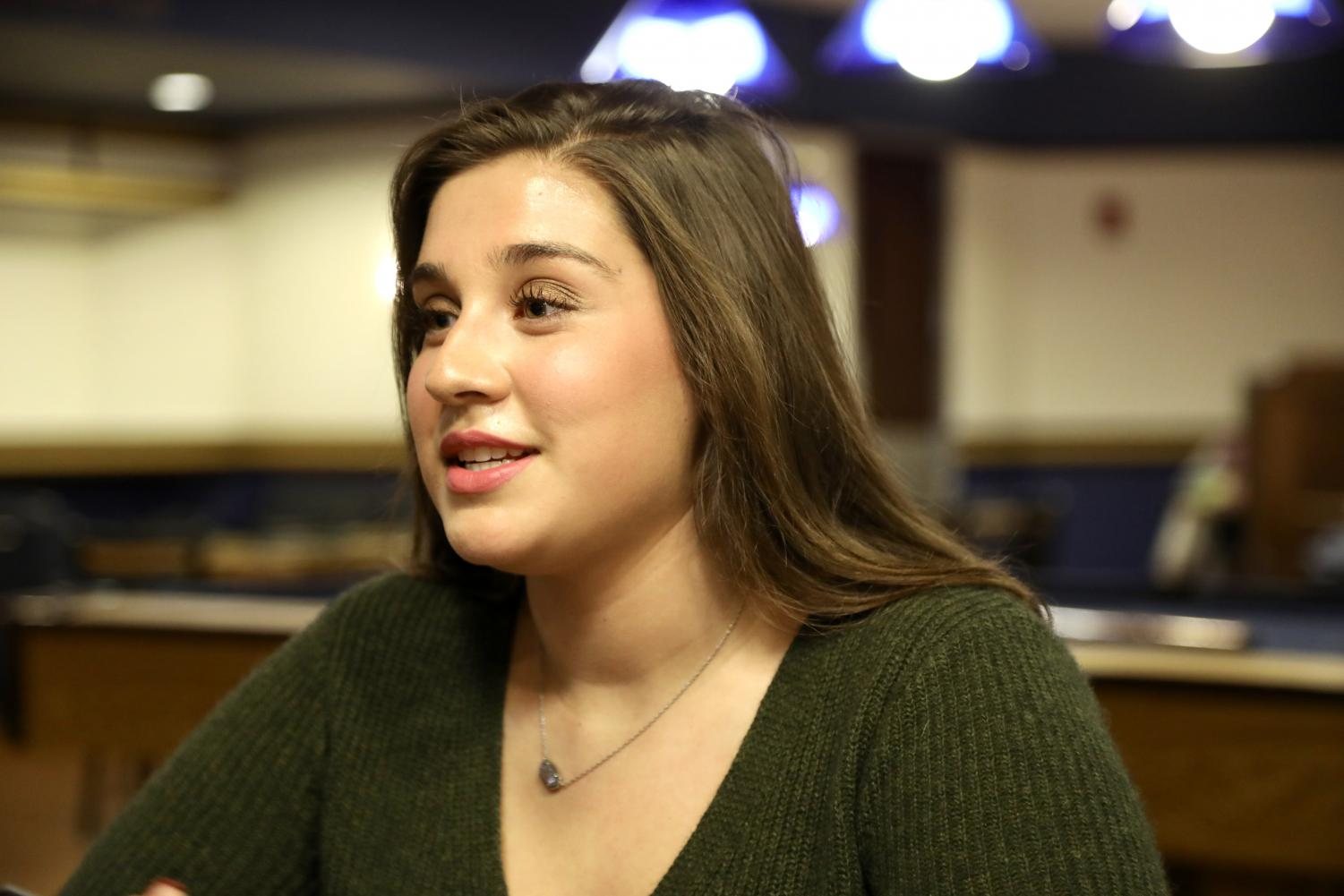 Nichole Fernandez-Jurado was one of the three people who helped create the College of Communication student council.