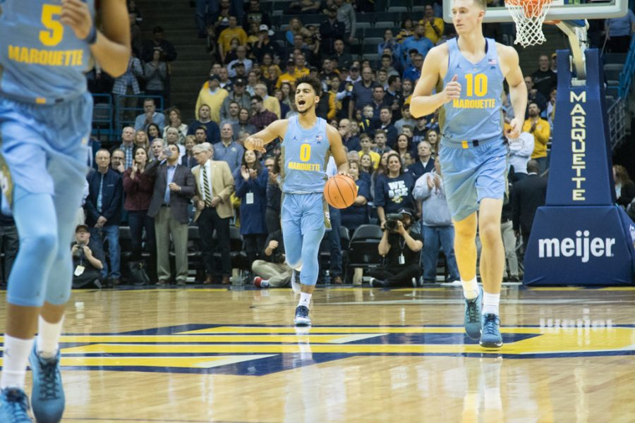 FLOOR SLAPS: Marquette forces season-high 25 turnovers in win against Hoyas