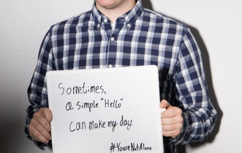 "MUSG member creates ""You're not Alone"" campaign"