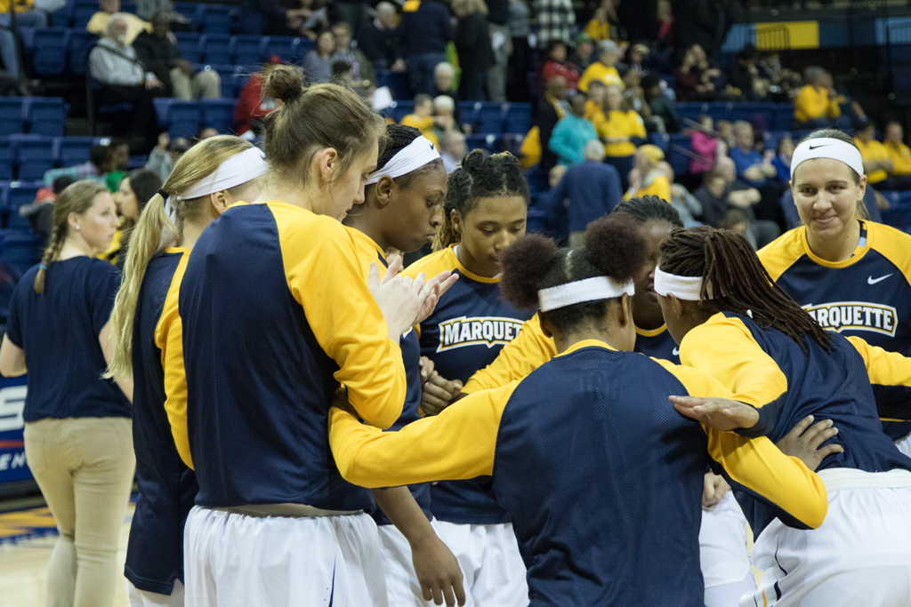 With today's loss to Notre Dame, Marquette is 6-5 going into its conference schedule.
