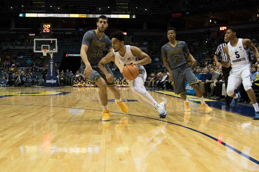 Markus Howard scored 34 points en route to a 91-81 victory over Vermont