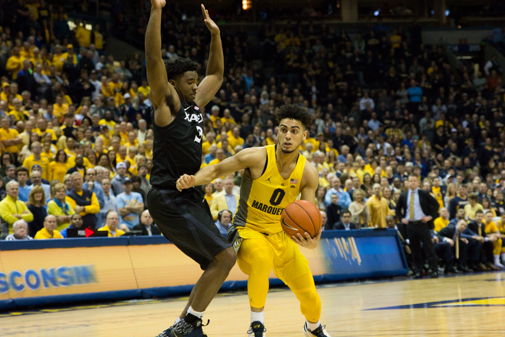 Marquette defeated Xavier both times last season.
