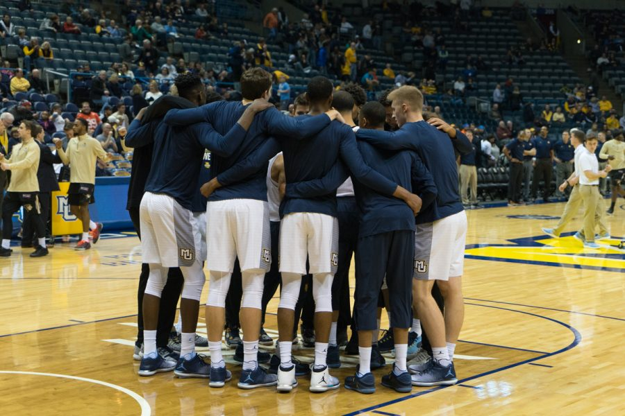 Marquette lost its conference opener to Xavier, 81-77. The Golden Eagles are 1-3 in first games of BIG EAST play under head coach Steve Wojciechowski.