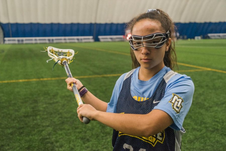 Polk is the first women's lacrosse player at Marquette from the state of Wisconsin.