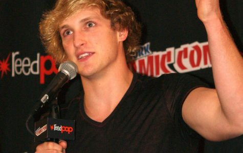YouTube content creator Logan Paul at New York Comic Con.