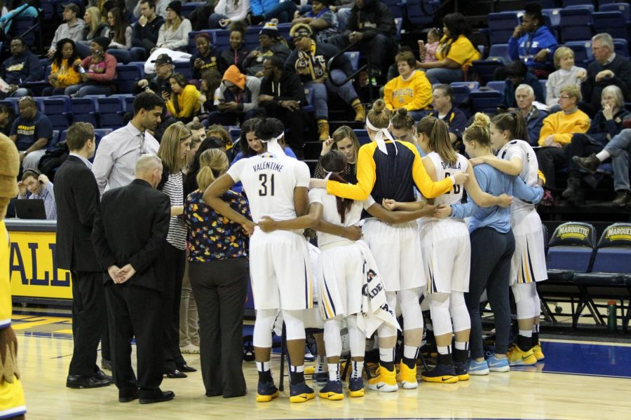 Marquette extended its winning streak to five games against Providence.