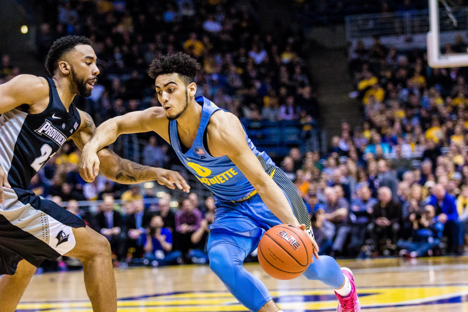 Markus Howard set a program record with 52 points against Providence.