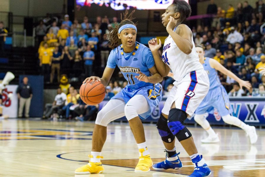 Marquette's defense not enough to beat Depaul