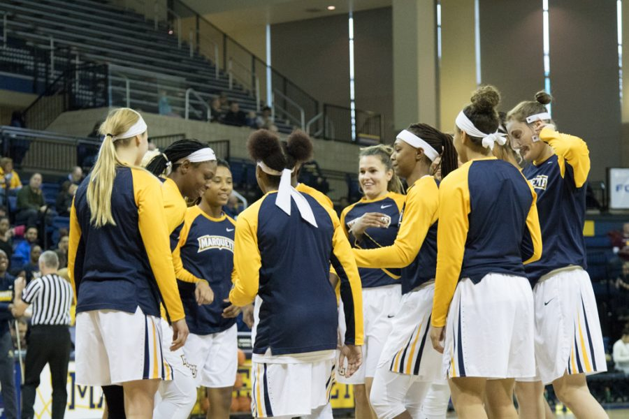 Marquette sits atop BIG EAST following productive second half against Creighton